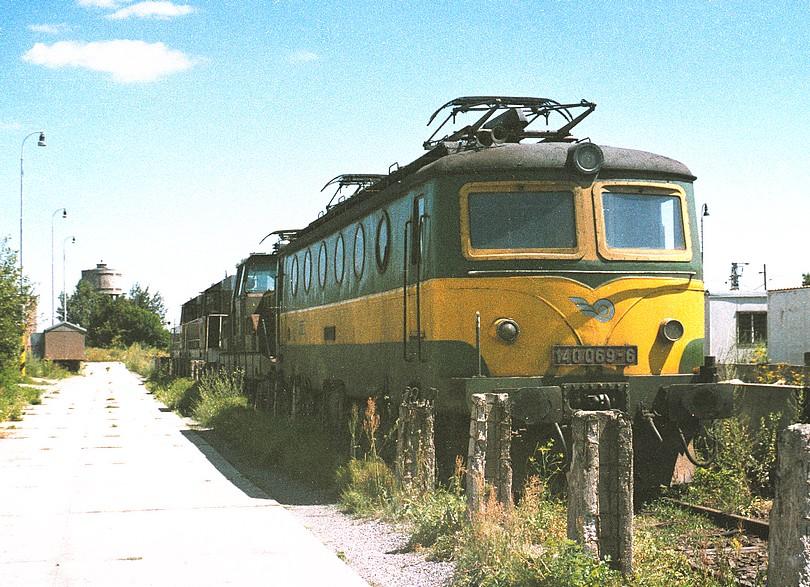 depo v Čiernej nad Tisou - prevádzková 140.069-6