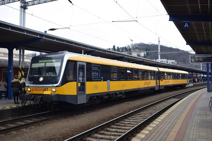 Ďalej som tam objavil nemeckú jednotku 628 315-3 spoločnosti REGIO JET.