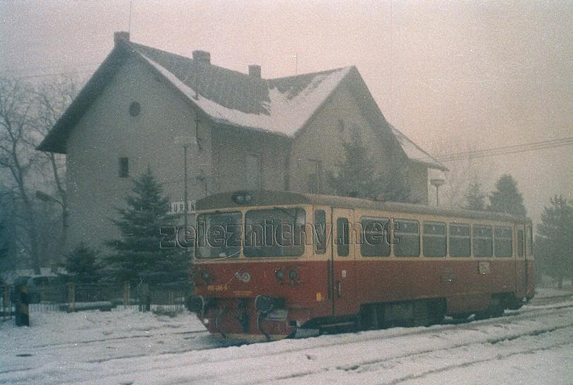 špatné počasie v žst. Muráň (2003) sem sa síce prevádzka vrátila, no nie nadlho