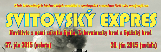 Svitovský expres 27-28.6.2015