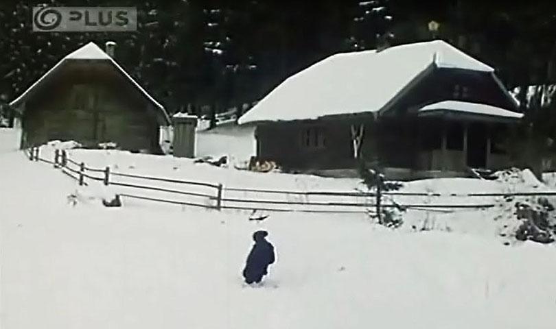 Horáreň v ktorej bývala malá Dáša s dedom sa nachádza hlboko v horách v doline Ipoľtica.