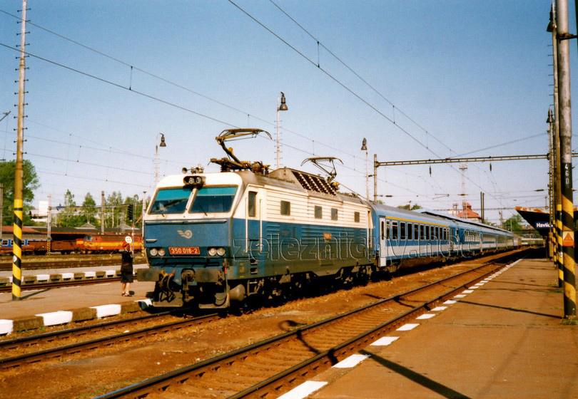 350.016-2 Havlíčkův Brod 7.5.2000 IC 311