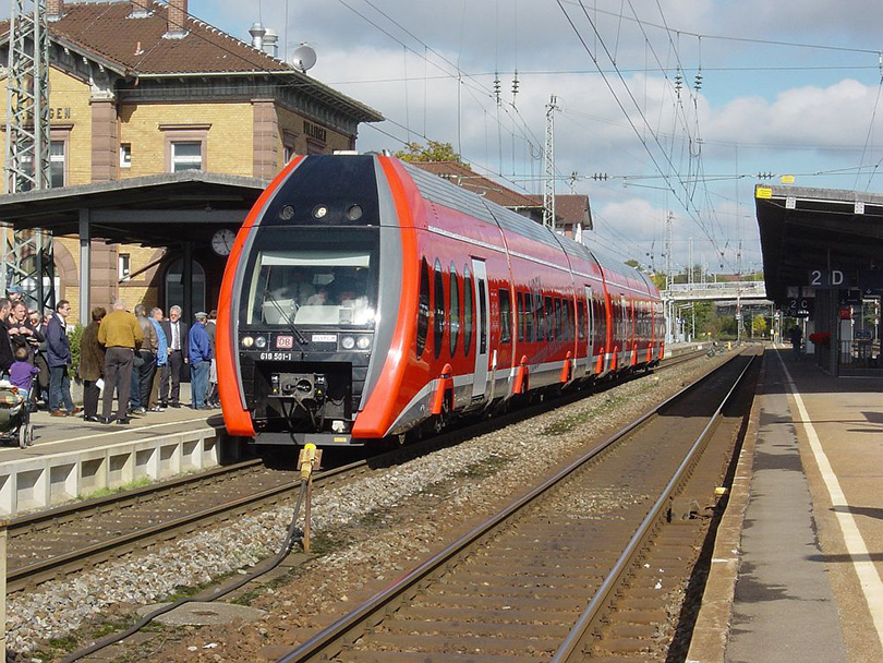 Skúšobná jazda LIREX 618501 na 29/09/2002 v Villingen