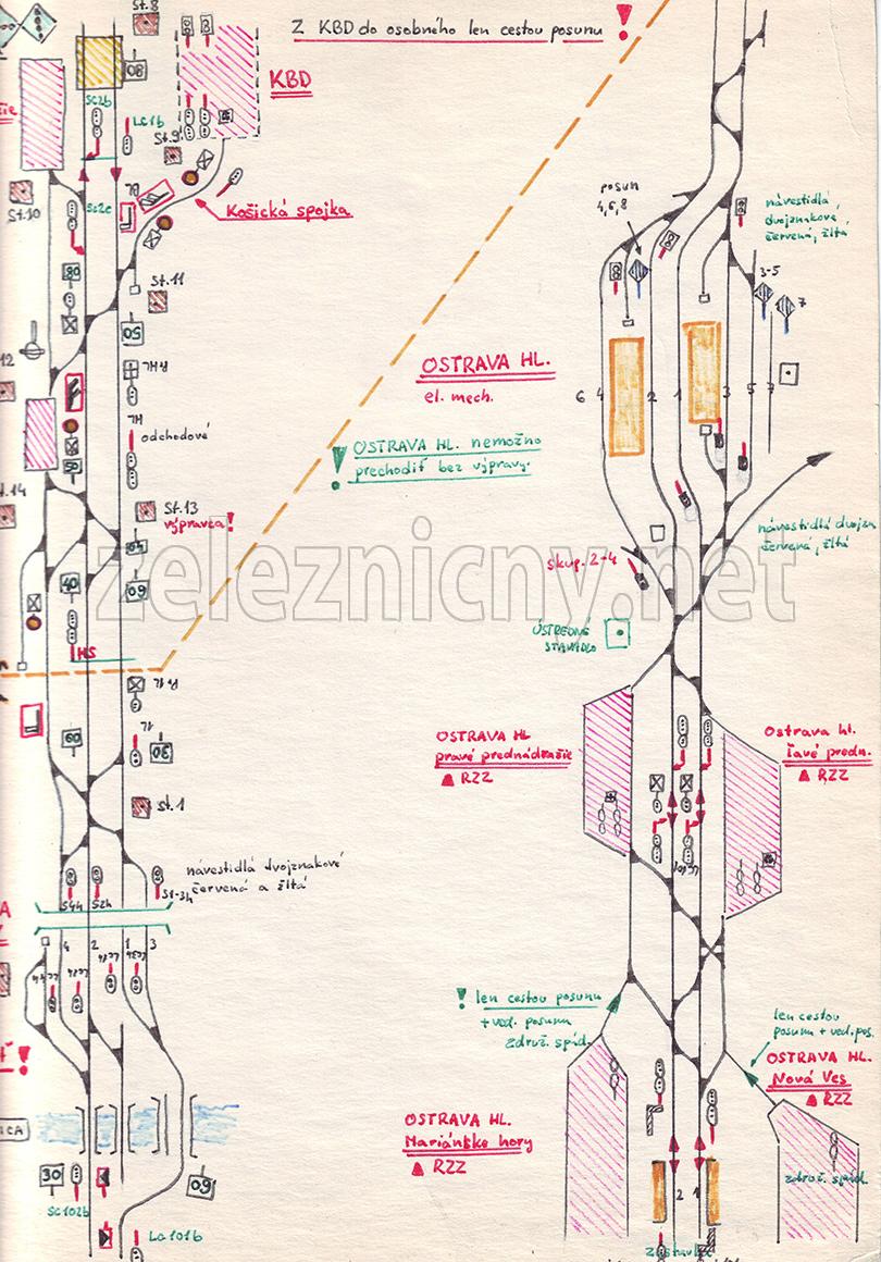 Štvrtá časť mapy do Petrovíc.