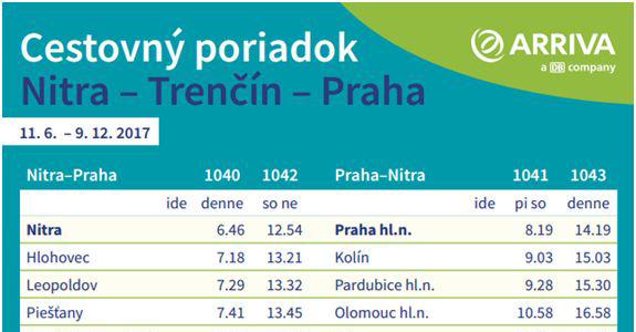 Vlaky ARRIVA budú zastavovať aj v Nemšovej