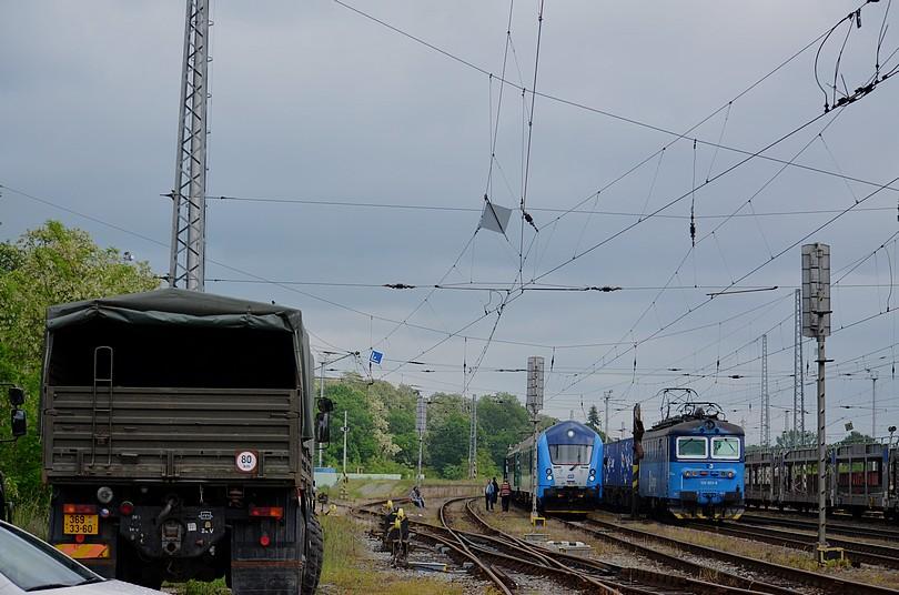 AČR a R886, Litoměřice Horní nádraží, 4.6.2013