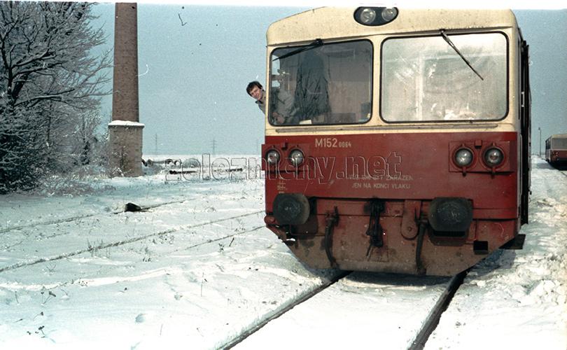 Plavecký Mikuláš zima 1982.