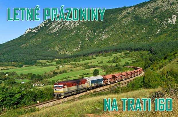 Letné prázdniny na trati 160