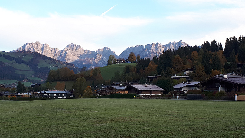 Ráno v Tirolsku