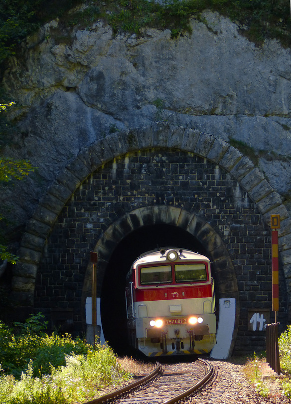 Hlinkov tunel a Zr 1849