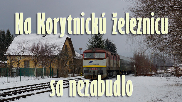 Na Korytnickú železnicu sa nezabudlo
