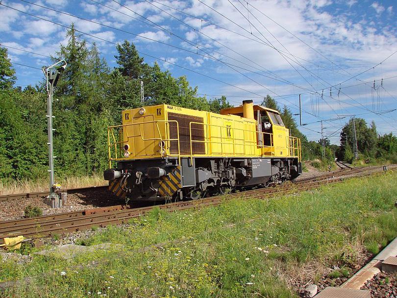 MAK G 1206 XR železničnej logistiky v Villingen na 10.8.2008