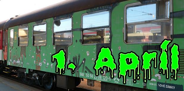 1.apríl na železnici