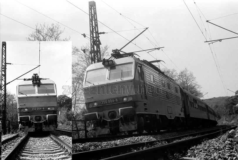 S vlakom zastavili, aby Huga odfotili.