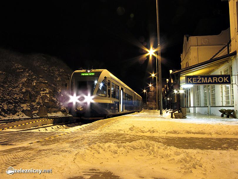 Posledný vlak do Popradu zo Starej Ľubovne