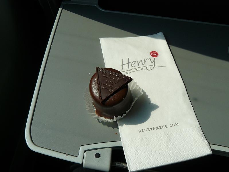 a ku kávičke čokoládový dezert