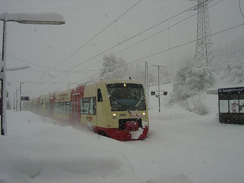 Regionálne Express 31775 na 04.03.2006 v St Georgen
