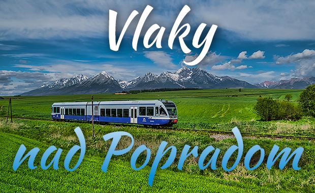 Vlaky nad Popradom