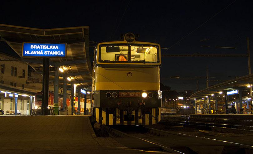 """Môj príchod do Bratislavy. 750 183 """"Dáša"""" berie súpravu do """"Myčky"""""""