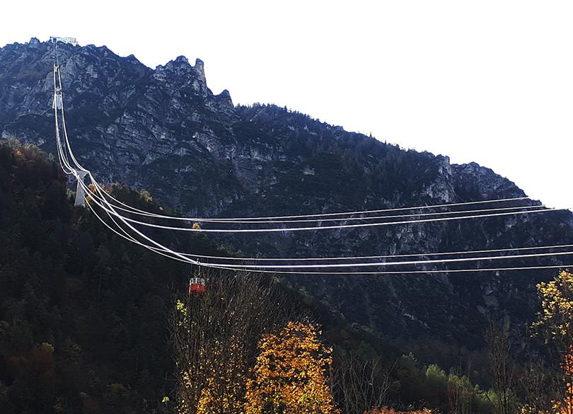 Predigtstuhlbahn - lanovka do výšky 1613 metrov