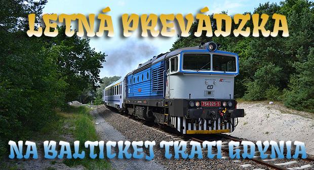 Letná prevádzka na baltickej trati Gdynia