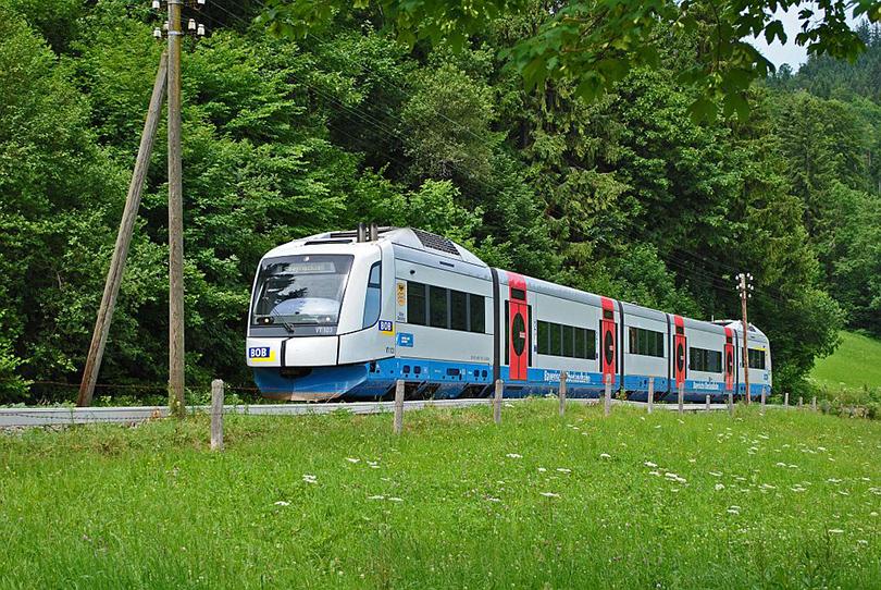 BOB 86909 München - Bayerischzell VT 103 u Schliersee