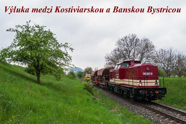 Výluka medzi Kostiviarskou a Banskou Bystricou