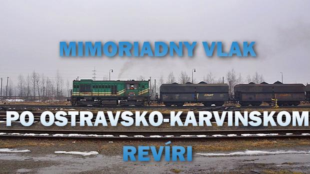 MIMORIADNY VLAK PO OSTRAVSKO-KARVINSKOM REVÍRI