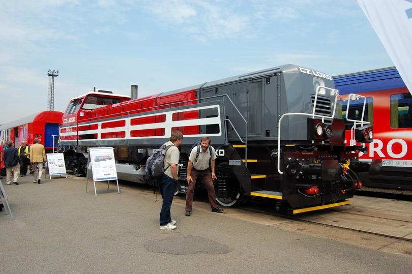 Nová lokomotíva 744.001 od CZ LOKO