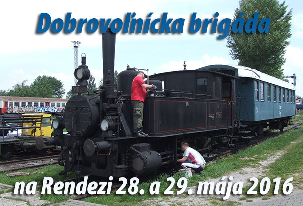 Dobrovoľnícka brigáda na Rendezi 28. a 29. mája 2016
