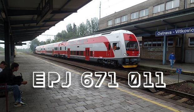 EPJ 671 011 počas vykonávania TBS