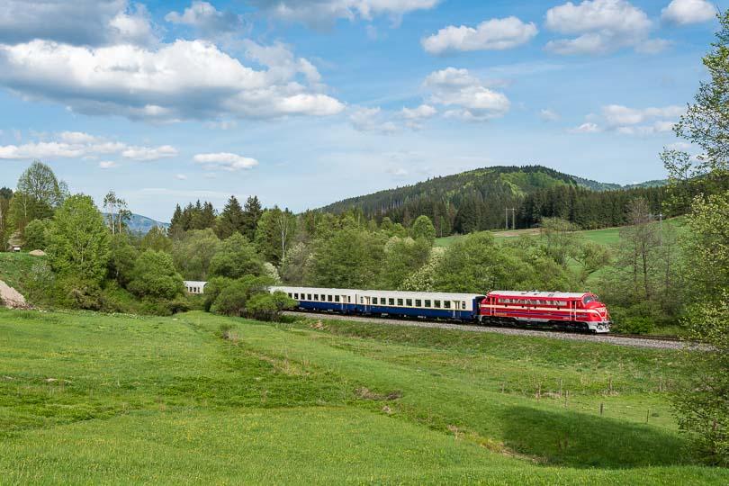 V neočakávaní sme vlak zastihli ešte Beňuši(foto:DjMiscin)