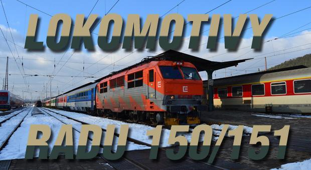 Lokomotivy radu 150/151