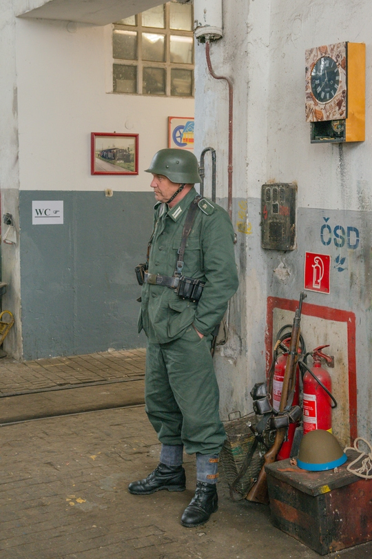 Okupáciu Wehrmachtom tu nikto nečakal: foto: © krz