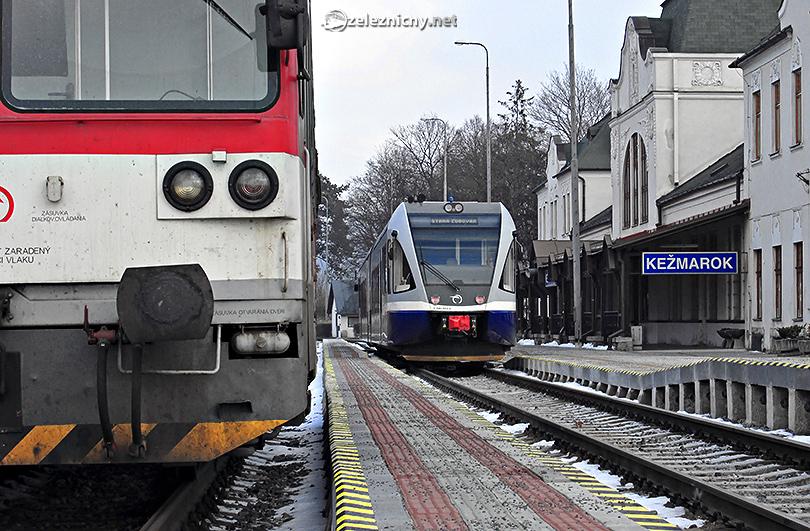 Kežmarské križovanie alebo odpočinok medzi vlakmi.