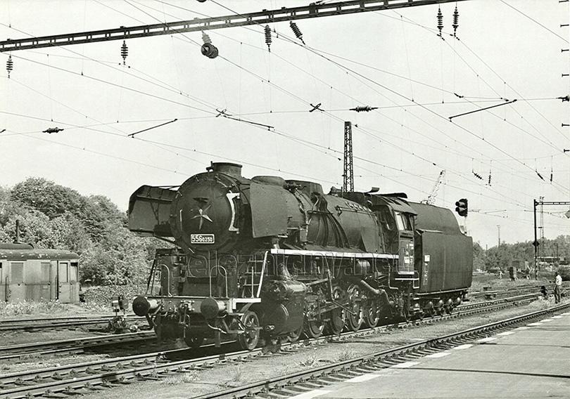 Ve stanici Havlíčkův Brod byla vyfotografována lokomotiva 556.0250 dne 1. 6. 1978, když se vracela z opravy z ŽOS České Velenice.