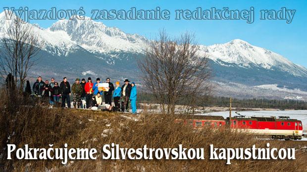 Výjazdové zasadnutie redakčnej rady: Pokračujeme Silvestrovskou kapustnicou