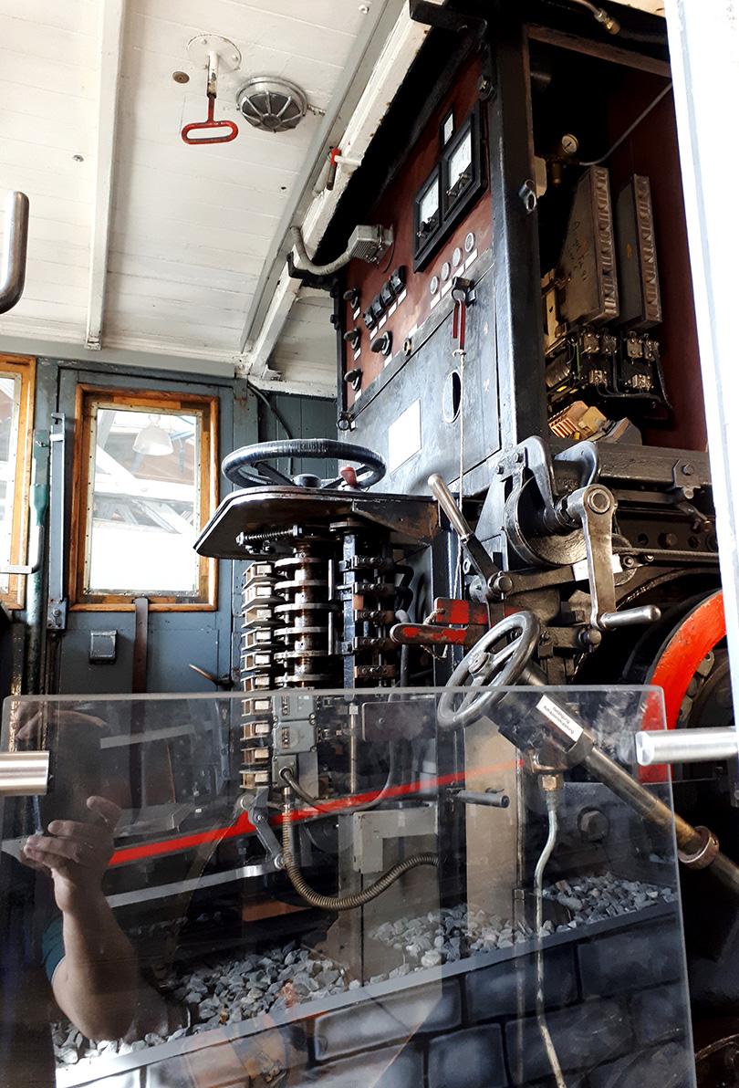 Stanovište lokomotívy Wendelsteinbahn