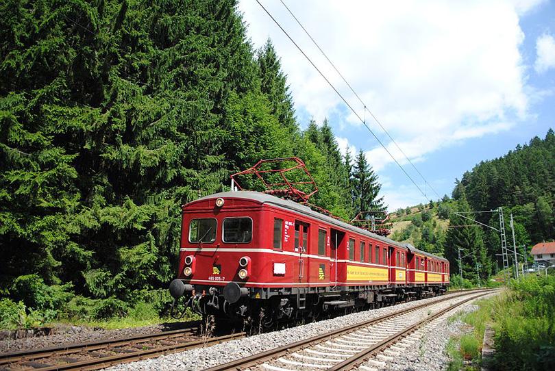 Špeciálny výlet ET 465 005 vo Nussbach on 25/07/2010