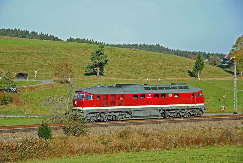 Ludmilla 232.088 EFW Stockburgu na 20.10.2012